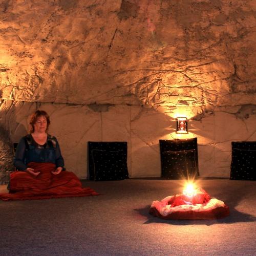 Christine Meditating