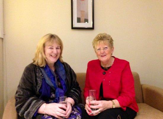 Christine Moran, CEO ICPPD and Anne Lynch Console Mayo at the recent launch of Console's Midland centre in Athlone