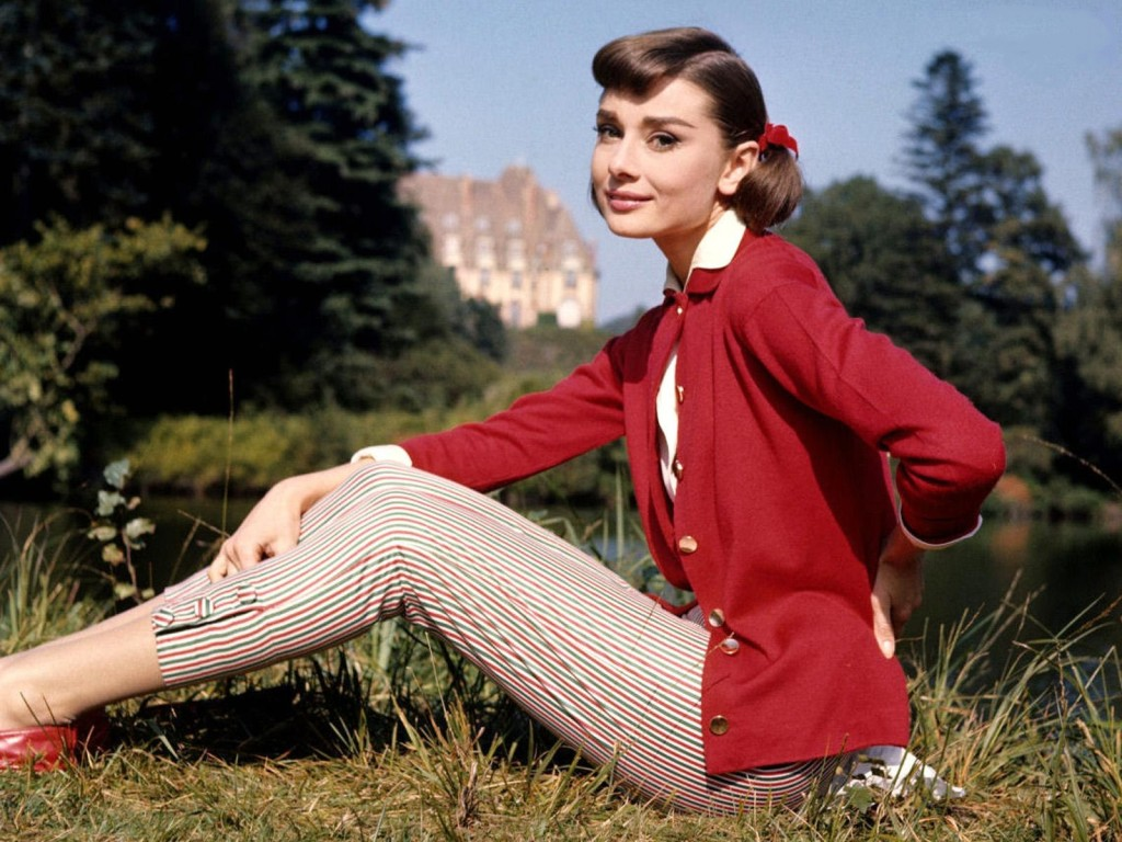 Audrey Hepburn whose personality resonates with that of a Peacemaker