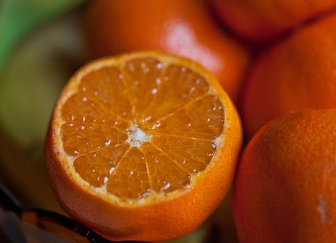 Use an orange for mindfulness