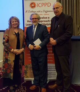 Jim Hutton with Christine & Tom @ ICPPD conference, Oct 2017