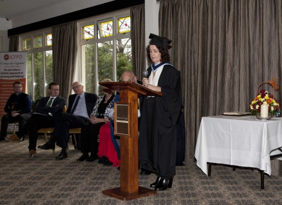 Graduation Speech presented by Patricia Lally
