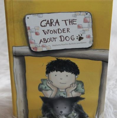 Cara the Wonder Dog by ICPPD student Stephanie Ruschin-Burke