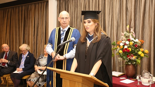 Graduation Speech by Emma Healy
