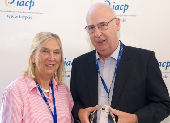 Tom Moran receives IACP recognition
