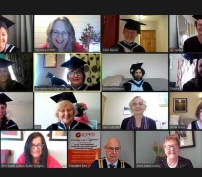 Galway group graduation photo